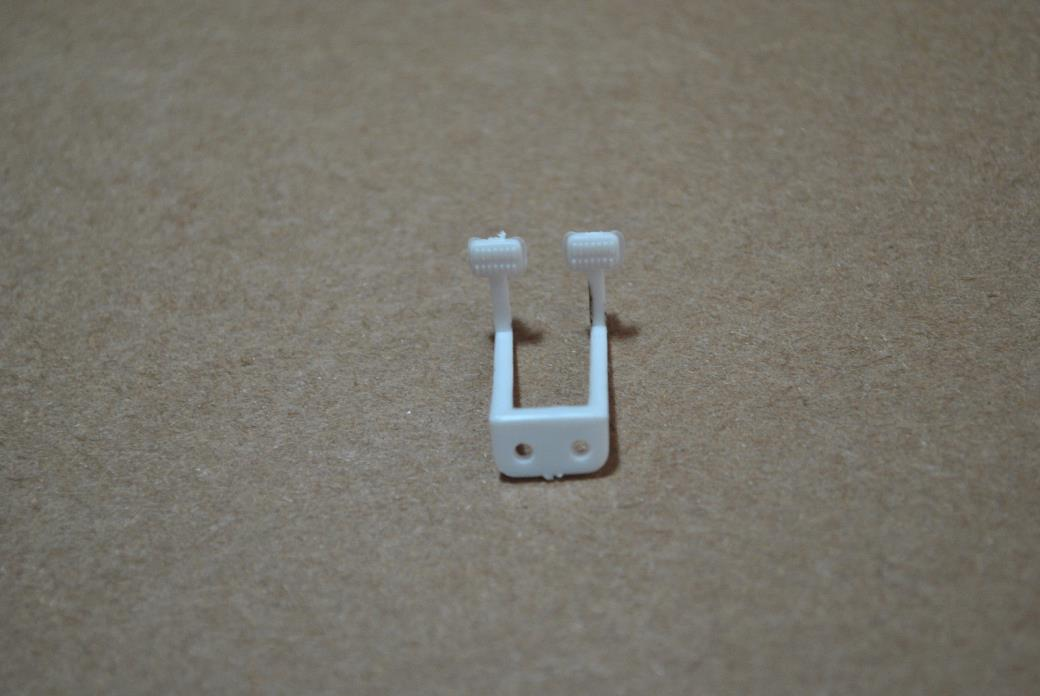 REVELL 1/25 1965 CHEVY IMPALA CLUTCH & BRAKE FOOT (FLOOR) PEDALS - 1 TOTAL PART!