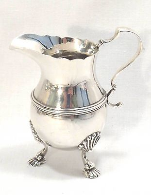 Sterling Creamer or Small Pitcher - English London - Wakely & Wheeler 1929