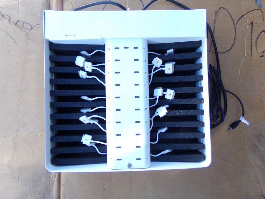 Bretford PowerSync Drawer/Tray for iPhone & iPod-30 Pin-Enterprise Charger-USED