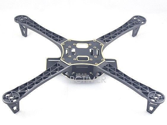 R450(Black) Glass Fiber Quadcopter Frame 450mm - Integrated PCB Version DJI F450