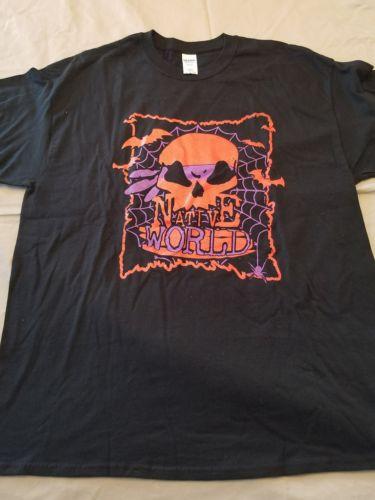 Anybody Killa Native World T-Shirt dark lotus insane clown posse twiztid abk XL