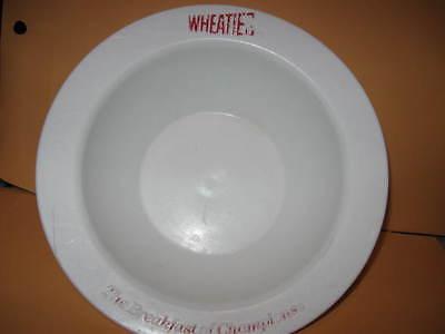 Vintage WHEATIES baseball CEREAL BOWL base bowl #72323 general mills