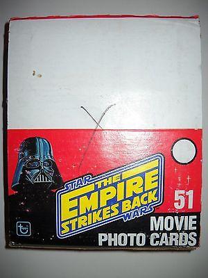 1980 STAR WARS EMPIRE STRIKES BACK 2ND RACK PACK FULL BOX TOPPS