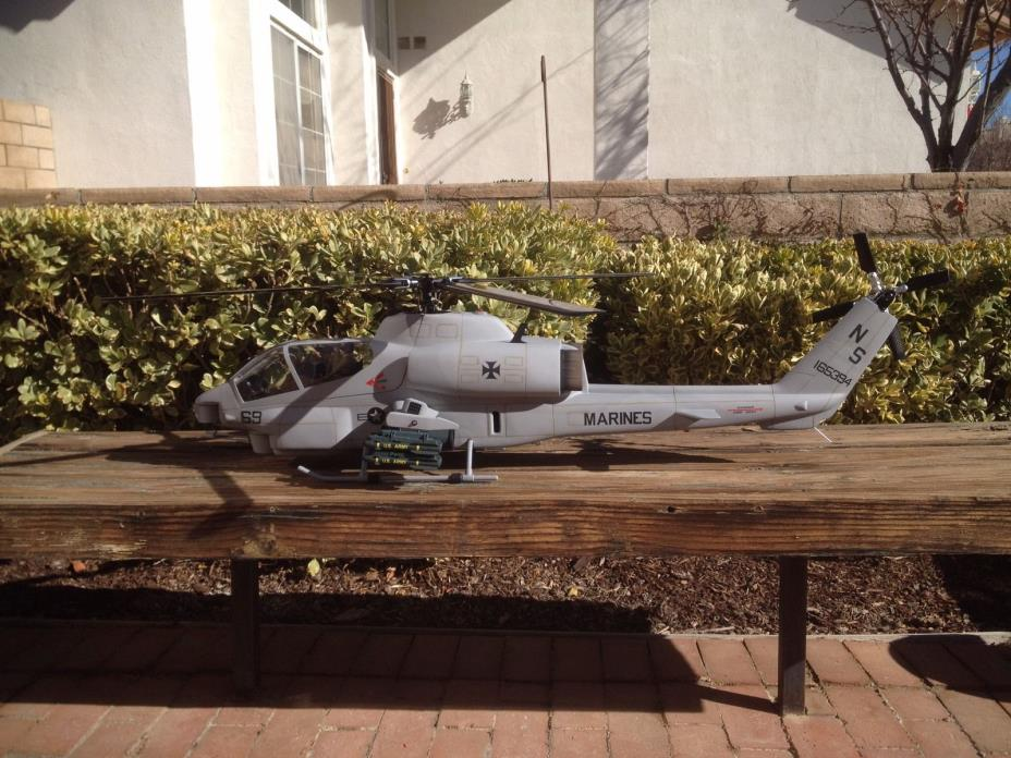 AH-1 Cobra-Align Trex 500 Helicopter FBL RC Helicopter- HeliArtist Fuselage