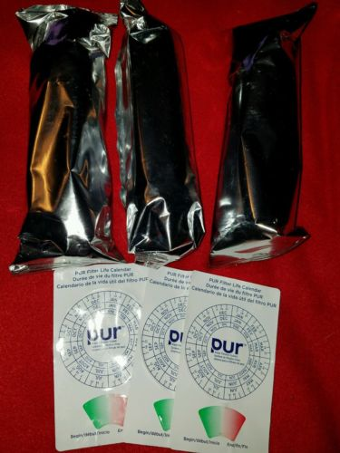 PUR Water Filter Lot Of Three Stage 2 Pitcher Filters.