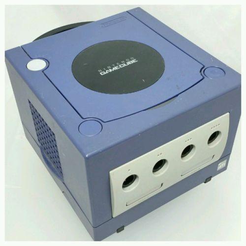 Nintendo GameCube Indigo Purple Console Video Game System (DOL-001 USA)