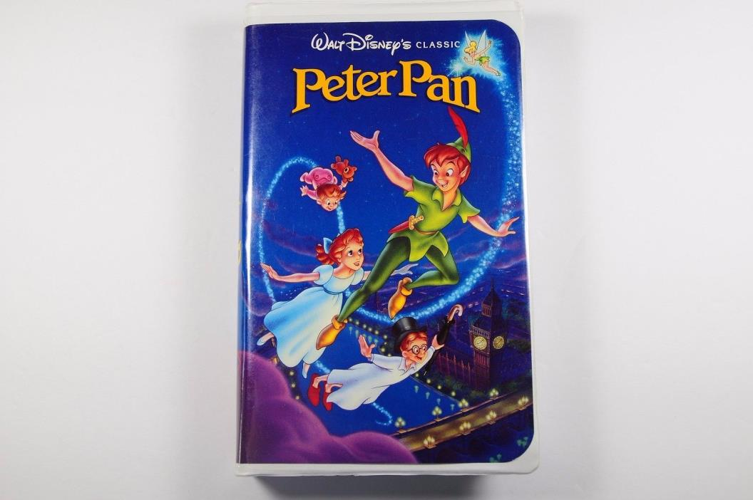 USED Walt Disney's Peter Pan The Classics Clamshell VHS 960