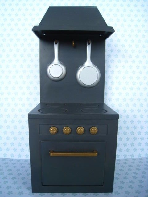Madeline Doll Kitchen Stove Dollhouse Furniture Accessory