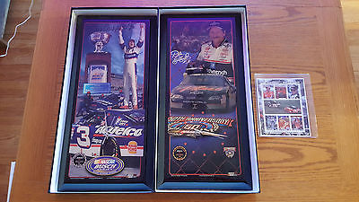 Dale Earnhardt Jr & Sr #3 Jebco CA-73, Jebco CA-95 With Stamps - Collection -