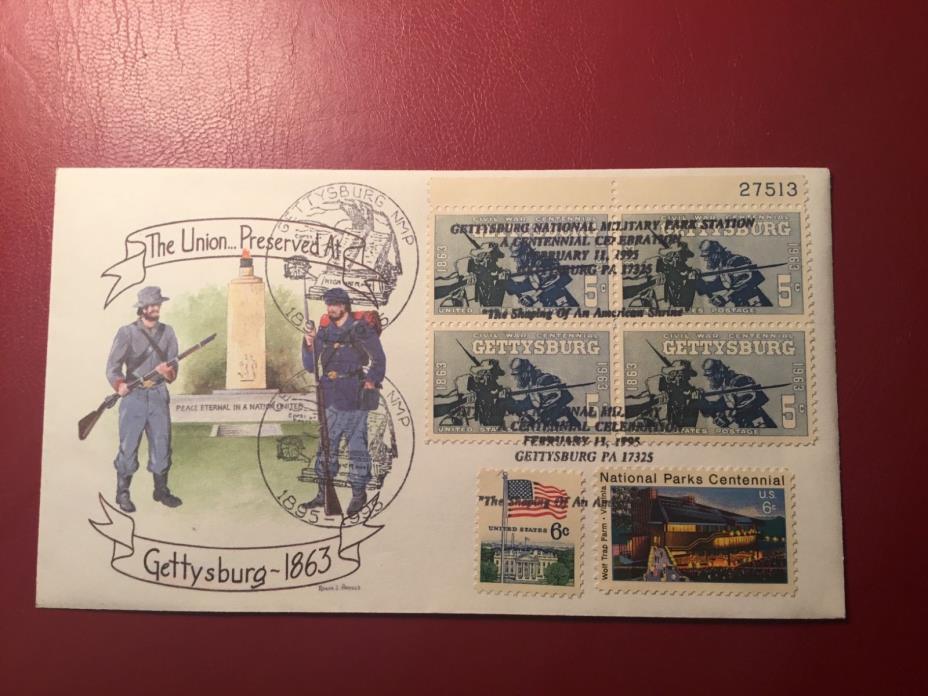 Civil War Gettysburg Combo Cover (NC778)