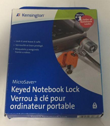 Kensington 64068F MicroSaver Keyed Laptop Lock for Business Standard