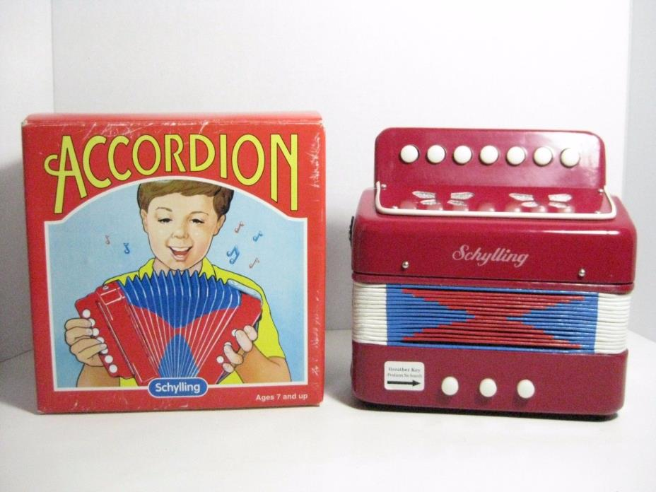 SCHYLLING ACCORDION FOR AGES 7 AND UP