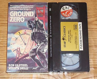 Ground Zero (1973, VHS) Nuclear Terrorism Sci Fi Horror in San Francisco RARE