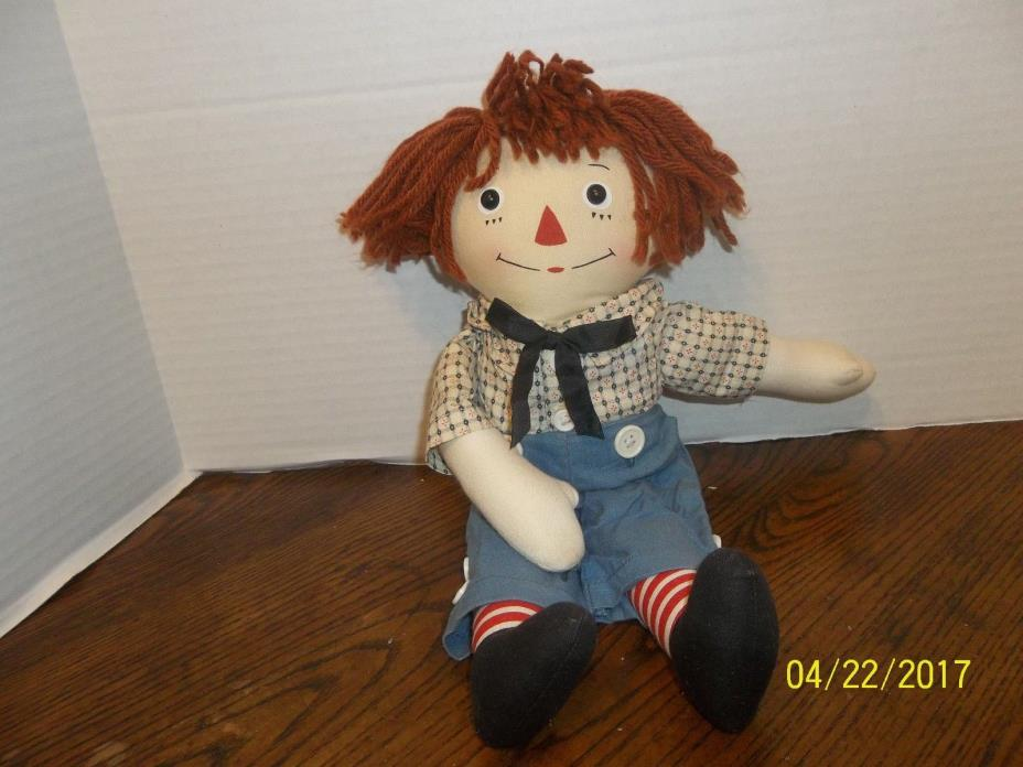 APPLAUSE RAGGEDY ANDY 1930'S VERSION REMAKE PLUSH CLOTH DOLL 14