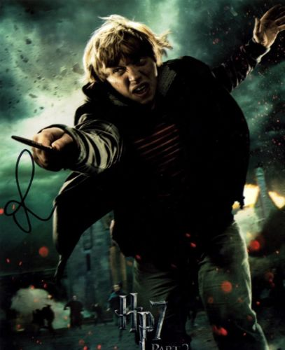 SIGNED RUPERT GRINT 8 BY 10 AUTOGRAPHED PHOTO! HARRY POTTER!