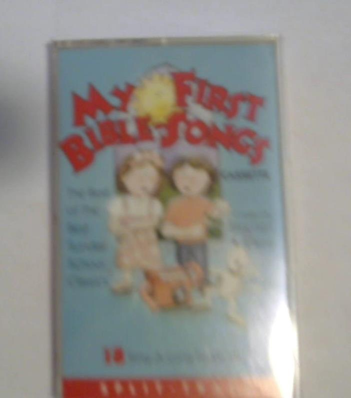 My First bible songs cassette by stephen elkins 1991