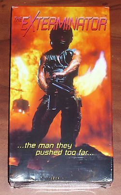 The Exterminator (1980, VHS) Vietnam Horror War Revenge NEW/SEALED RARE