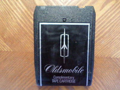 OLDSMOBILE 1973 8 TRACK TAPE/ TESTED /VARIOUS/ VG CONDITION/