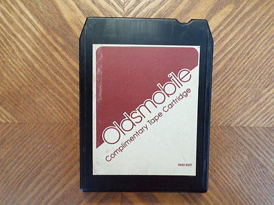 OLDSMOBILE 1978 8 TRACK TAPE/ TESTED /VARIOUS/ VG CONDITION/