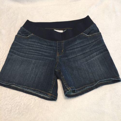 Liz Lange Maternity Jean Shorts Medium