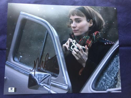 Signed Rooney Mara 11 By 14 Photo COA CARROL