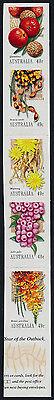 Australia 2086-90 MNH Aboriginal Food, Fruit, Flowers