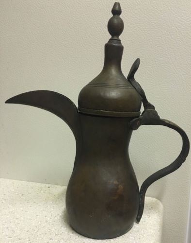 antique arabian coffee pot