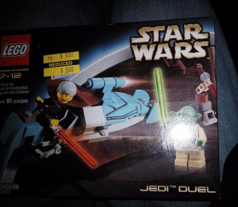 Lego Star Wars 7103 Jedi Duel NISB with Yoda and count dooku