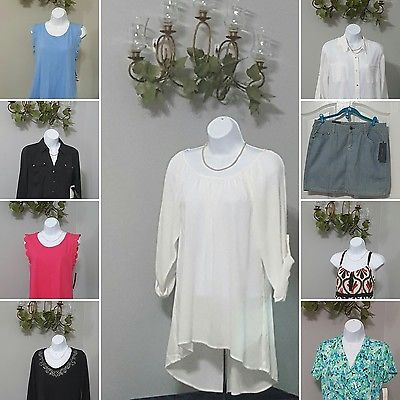 NEW WOMENS AND PLUS SIZE CLOTHING WHOLESALE 30 PIECE LOT