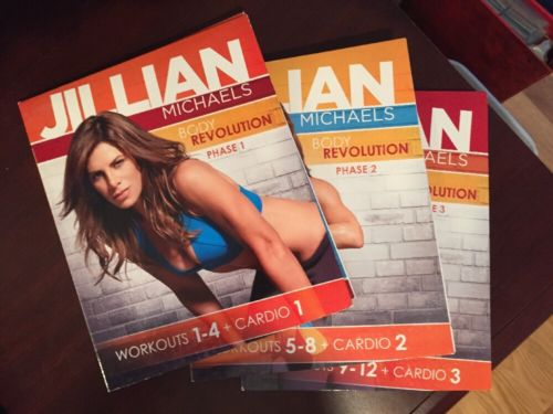 Jillian Michaels Body Revolution Complete 15 Disc Set Workout