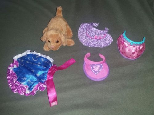 furreal friends dog small puppy lot clothes dress cape fur real
