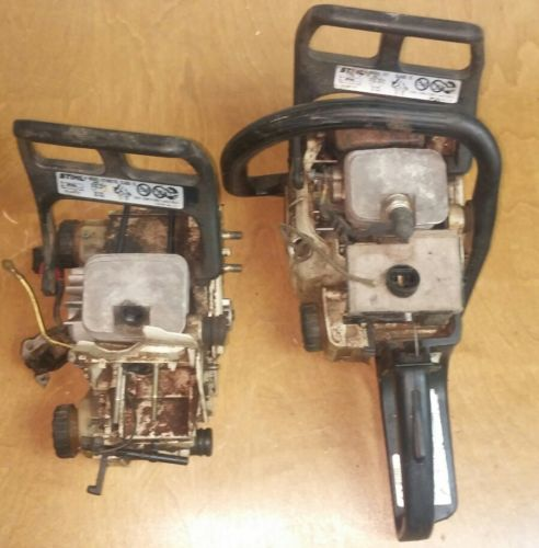 2 - Stihl 017 Chainsaws FOR  Parts Or Repair