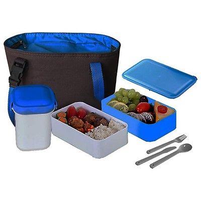 NEW Cookinex 17PC Lunch Box Set (Blue) FL95B
