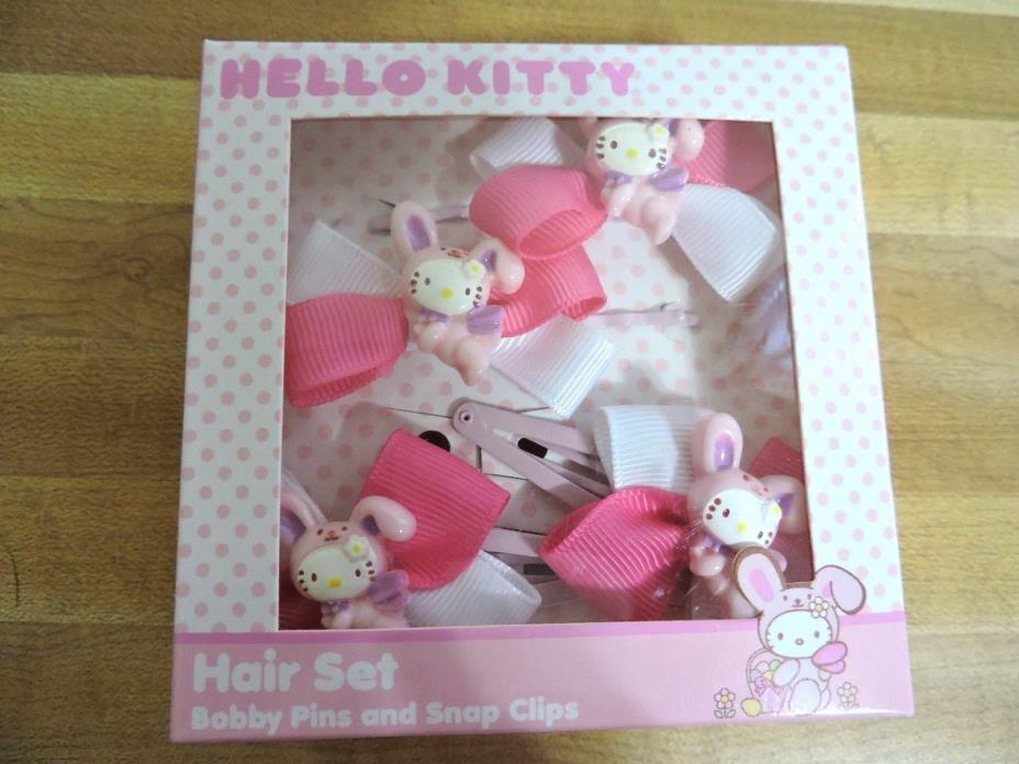 Sweet HelloKitty Hair Set Hello Kitty Hair Bow Set NIP