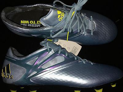 Adidas Messi 15.1 FG/AG Mens Soccer Cleats - Metallic Blue B23773