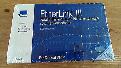3Com 3C529 EtherLink III Parallel Tasking 16/32bit Micro Channel network adapter