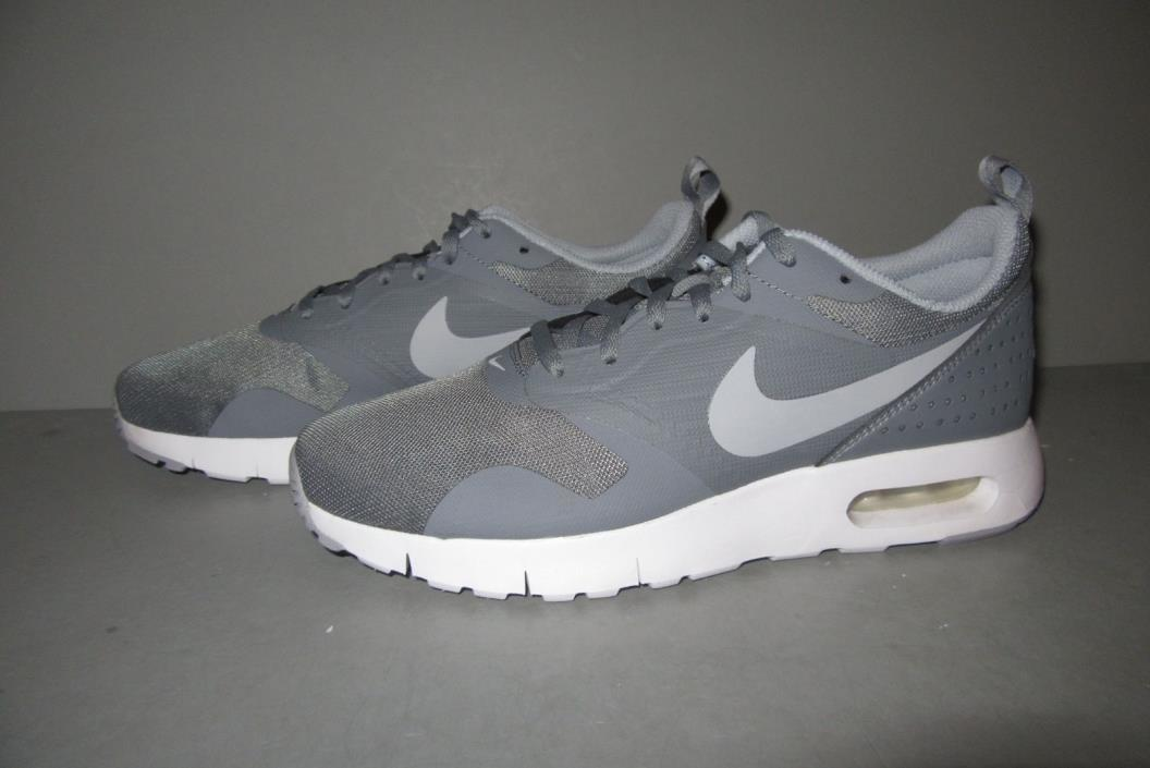 Nike Kids' Grade School Air Max Tavas Casual Shoes Size 6.5Y Cool Grey / White