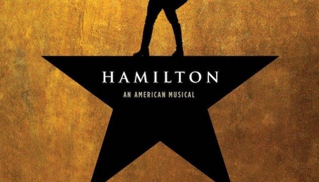 2 Hamilton Tickets LA Pantages Theatre FRIDAY 9/8/2017  MEZZANINE LEFT ROW A