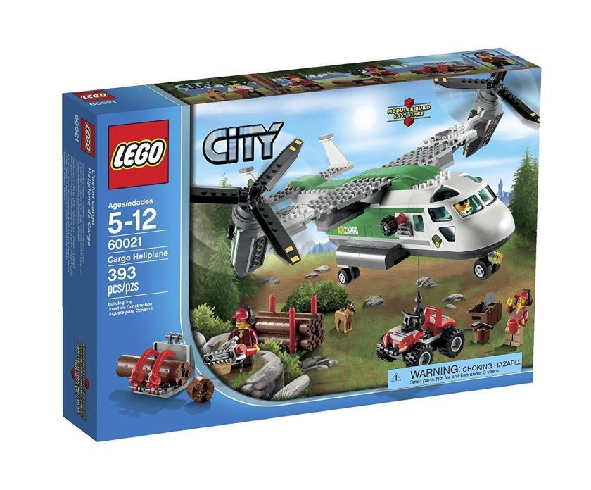 LEGO City 60021 Cargo Heliplane Retired! New In Box