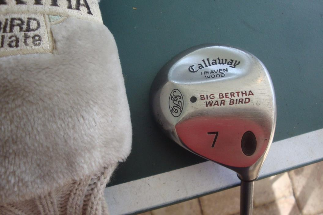 Callaway Big Bertha Warbird Titanium Heavenwood #7 Wood Golf Club SENIOR