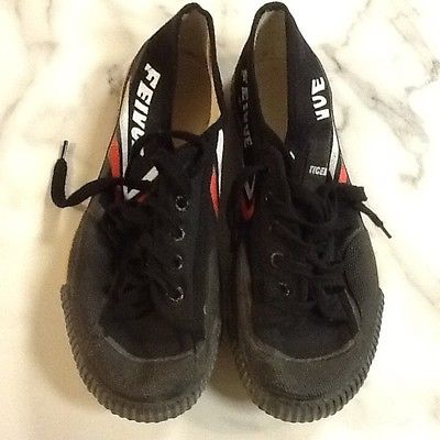 Tiger Claw Feivue Martial Arts Shoes - Black - Size 43