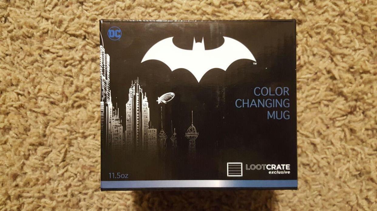 Loot Crate Exclusive Batman Color Changing Mug