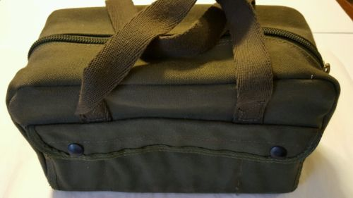 US MILITARY MECHANICS TOOL BAG OD GREEN  MECHANIC UNICOR 5140-00-329-4306