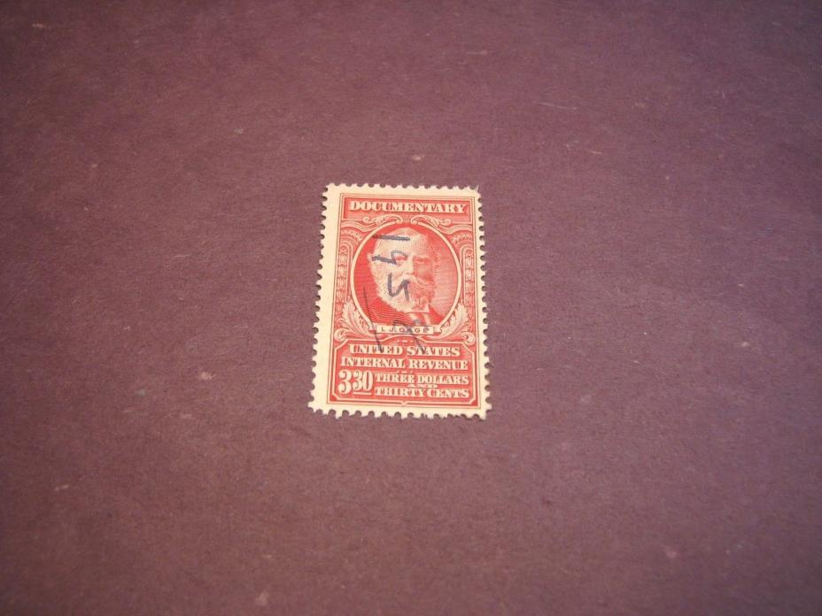 US Stamp Back of Book Scott# R674 Gage  1954 C223