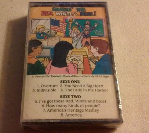 Singin' The Red, White & Blue!  - (New Cassette)