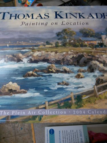 thomas kinkade The Plein Air Collection 2004 calendar