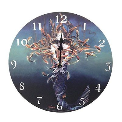 Metamorphosis Wall Clock By Sheila Wolk