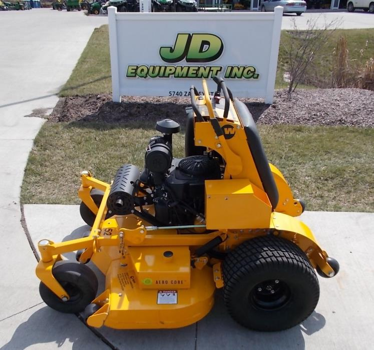 2017 WRIGHT STANDER X COMMERCIAL STAND ON ZERO-TURN LAWN MOWER NA# 146174