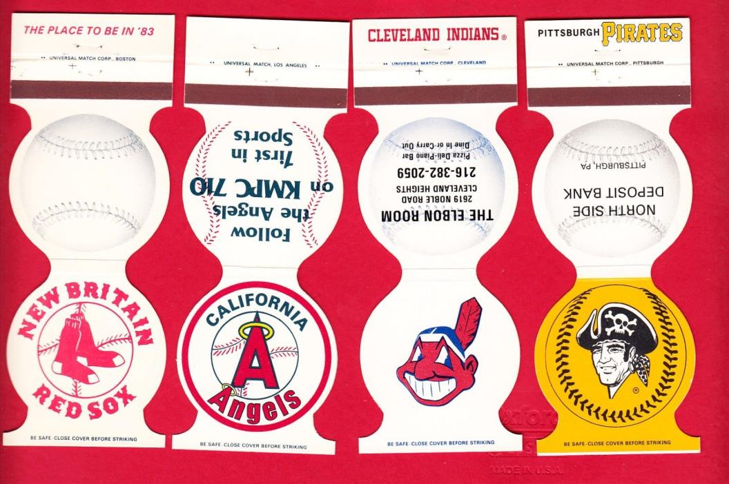 Matchbook Cover - Cleveland Indians 1982 schedule