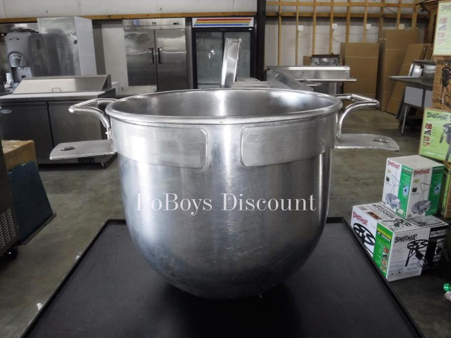 Stainless Steel 30 Quart Mixing Bowl 61631-A02 For Hobart Commercial Mixer